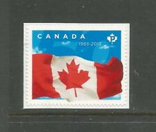 BOOKLET SINGLE    CANADIAN FLAG 50TH    #2807