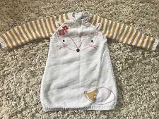 Girls cute jumper dress age 6-9 months