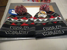 Star Wars™  Beanie....empire Ugly Sweater Pom Beanie winter x 2