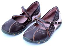 Brown Pink Mary Jane shoes toddlers size 13 girls