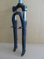 "Suntour NEX-HLO Forcella 28"" Trekking Cross Lockout 63mm nero V-Brake T29"