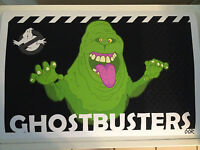 Ghostbusters Slimer movie poster print