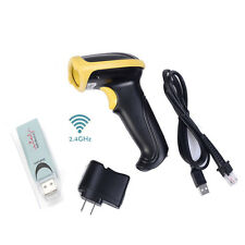 2.4G USB Wireless Handheld Wifi laser Barcode POS Scan Bar Code Scanner Reader
