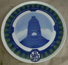 alter Porzellan Teller Rosenthal 1913 Verein Deutscher Ingenieure Kriegerdenkmal