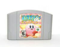 Kirby 64: The Crystal Shards (Nintendo 64 N64) Cleaned & Tested - Excellent