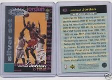 Michael Jordan #C1 95-96 CC Crash Silver Redemption MJ