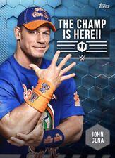 2017 TAGLINES JOHN CENA Topps WWE Slam Digital Card