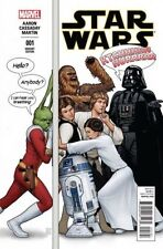 STAR WARS ISSUE 1 - MARVEL COMICS - CHRISTOPHER RETAILER LAUNCH PARTY VARIANT