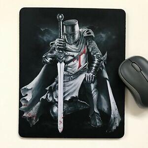 Mouse Mat Pad laptop desktop office Templar made in UK choose size #2