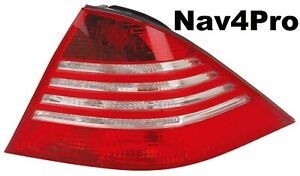 NEW 2003-2006 Mercedes-Benz S-Class Sedan Right Outer Clear OE Style Tail Light
