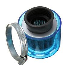 38mm ATV  Pit Dirt  Bike Splash Proof Cover Air Filter Cleaner 110cc 125cc Blue