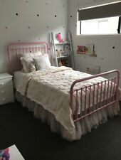 king single bed frame, Pink, Incy Polly Bed