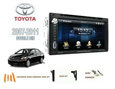 2007-2011 TOYOTA YARIS CAR STEREO KIT, BLUETOOTH TOUCHSCREEN DVD USB