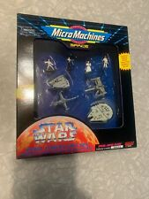 STAR WARS MICRO MACHINES REBEL FORCES GIFT SET 1994 NIB