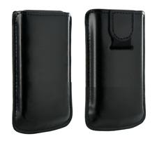 Ledertasche schwarz ~ lg GS290 / GM360 / P350 + samung S5620 2-Sterne-Spieler
