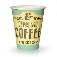Coffee to go Becher 0,2 l Pappbecher Espresso fresh Kaffeebecher 1.000 Stk.