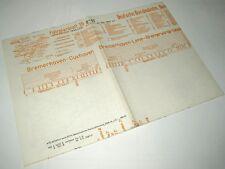 Bildfahrplan 15 BD Hamburg Sommer 1954 Bremerhaven, Cuxhaven, Stade, Bremervörde