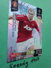 Champions League 2010 2011 manchester united scholes Panini Adrenalyn Limited