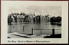 The Hague - View of Hofoyver and Government buildings. Dutch Post Card