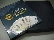 CARTELLA ABAFIL EURO PAPER MONEY CON CUSTODIA PER BANCONOTE