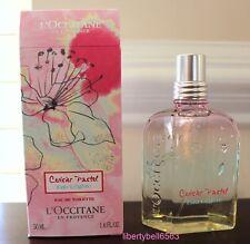 L'OCCITANE Cherry Blossom Cerisier Pastel EAU DE TOILETTE Spray 1.6oz /50ml -NIB