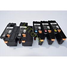 5 x Toner For Xerox Phaser 6010 6000 Workcentre 6015 6015V 106R01627 ~ 106R01630