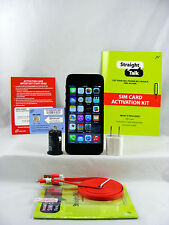 Apple iPhone 5-32GB Space Gray Straight Talk GSM AT&T 4G LTE Network + SIM Card