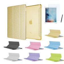 """Housse de protection iPad Pro 9,7"""" Bling Strass Soie Smart Cover Case Sac étui Film"""