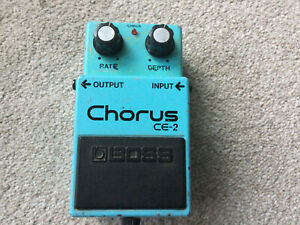 Boss CE-2 Chorus 1985 Japan Professionally Serviced And Modded
