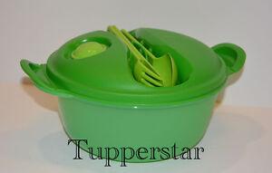Tupperware Hot-Lunch Mahlzeit & Go Mikrowelle 1,5l Grün