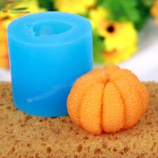 Fruit mold 3D orange soap mold orange  Aroma stone moulds candle mould