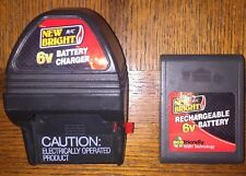New Bright Battery And Charger 6v
