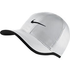 Nike Unisex Featherlight Aerobill Running Tennis Hat White Black 679421 100