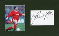 SAMMY LEE Signed 11x7 Photo Display LIVERPOOL FC COA