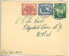 BIRDS  DOVES : POSTAL HISTORY -  AUSTRALIA : FDC COVER  1946 - VICTORY  PEACE