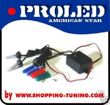 FLASHING CAR STROB LIGHT COLOR AND WHITE 12V AUTO
