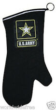 U.S. Army Military Barbeque BBQ Grill Oven Mitt Glove - Black