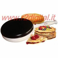 MACHINE CREPES PAN POT NON-STICK CREPPIERA 900w ANTISLIP