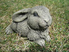 rabbit stone garden ornament  (N) | Many more ornaments in my shop!