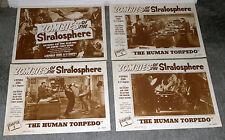 ZOMBIES STRATOSPHERE 11x14's COMMANDO CODY/LEONARD NIMOY original lobby card set