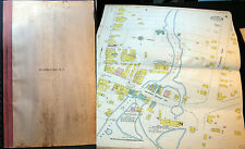 1909 RIVERHEAD LONG ISLAND NEW YORK ATLAS 11 MAPS HAND COLORED