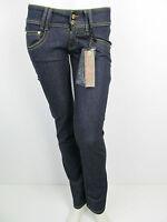 Phard Jeans Hose Skinny Slim Leg Röhren Hose Blau Gr 25