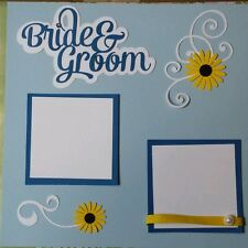 Wedding - Scrapbook Cut Outs Only - Blues