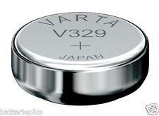 10 piezas Varta 329 Batería de Reloj 1,55v SR731SW/V329