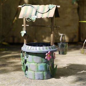 Secret Garden Magical Fairy Wishing Well Pixie House Garden Sculpture Ornament
