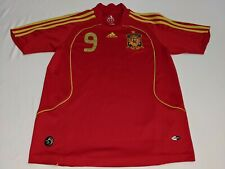 Adidas Spain Torres #9 Men's XS/ Women's Medium Jersey EUC
