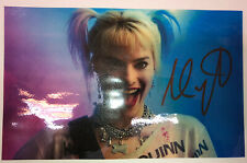 HARLEY QUINN (MARGOT ROBBIE) Authentic Hand Signed Autograph 11x7 Photo With COA