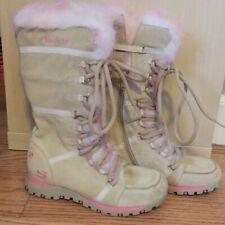 Skechers boots fur lined girls 2 Eu 33.5