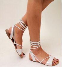 Calzado de mujer plana sin marca color principal plata