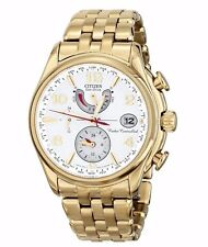 Citizen Eco-Drive Women's FC0002-53A World Time A-T Atomic Chronograph Watch